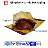 Stand up Food Packaging Pouch with Bottom Gusset