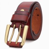 Top Layer Leather Man Belt Cow Hide Leather Belt (RS-131260)