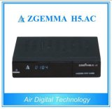 Genuine Zgemma H5. AC Full HD DVB-S2 ATSC Receiver with H. 265 and Hevc and HDMI