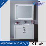 Wholesale PVC Floor Standing Bathroom Cabinet Modern with Mirror