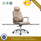 Massage Leather High Class Elegant Metal Executive Table Chairs (NS-060A)