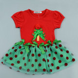Baby Girls′ Dress Tree Christmas Outfit Kid Wear