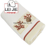 High Quality Embroidered 100% Terry Cotton Bath Towel Factory Price