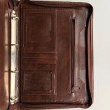 A4 Leather File Folder Fashion Portfolio for Business