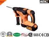 "Nenz 1-3/16"" Multi Function Cordless Rotary Hammer with 2 Lithium Batteries (NZ80)"