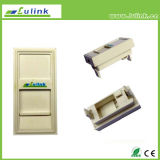 45*22.5mm, Single Port, Adapter for French Type Faceplate