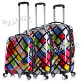 Hot Sale Colorful High Quality PC Trolley Travel Luggage