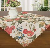 Factory Outlet Black and White Design Table Cloth Cotton and Linen Decoration Table Cover