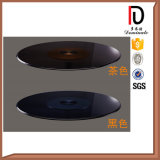 Strong Hotel Black Glass Lazy Susan for Table (BR-BL006)