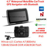 Waterproof motorcycle Bike Outdoor Action Car Truck Marine GPS Navigation with IPS Screen GPS Navigator, FM Transmitter, Handheld GPS Navigation System