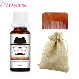 100% Natural Organic Beard Growth Oil + Custom Beard Comb