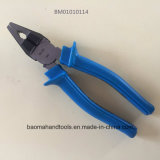 "6""Combination Pliers with Elegant Blue Handle"