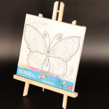 Writing Magnetic Board / Wood Drawing Stand/Collapsible Easel/Educational Toys Drawing Board for Kids Mjk-001
