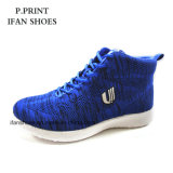 2018 Fashion China Flyknit Sport Shoes Hotselling Good Quality Breathable Design