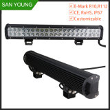 Automobile Lighting 17 Inch 108W LED Bar Waterproof Offroad Truck SUV ATV Ute UTV Car