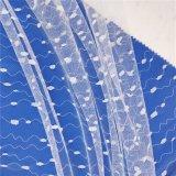 2020 New Design Jacquard Knitting Tulle Mesh Fabric for Skirt Wedding Dress