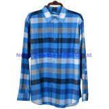 Men's Plaid Shirt 100% Cotton