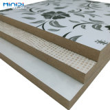 Patterned Color 18mm MDF Acrylic Surface Finished Board for House Beautification