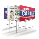 Factory Price Custom Made Real Estate Promotion Yard Sign