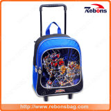 Printing Nylon Primary Middle School Bag with Weels