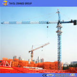 6t Construction Building Hydraulic Self Erecting 50m Jib Hammer Head Topkit Tower Crane