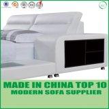 New Arrival Bedroom Set Bedroom Furniture Grey Leather Bed