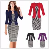 Office Business Work Formal Party Slim Tunic Pencil Dress Suits