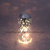Romantic Beautiful Multifunctional Battery Electronic Wholesale Christmas Deco 3D Glass LED Light