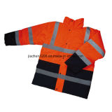 High Quality Water-Proof Warm Reflective Satety Coat