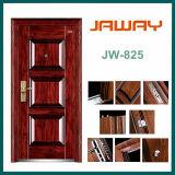 Jw-Zm825 Factory Made Cheap Security Steel Doors
