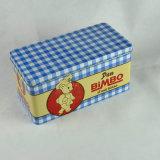 Metal Rectangular Tin Box for Gifts Packing