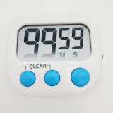 Big LCD Multifunction Candy Color Cooking Countdown Timer with Switch
