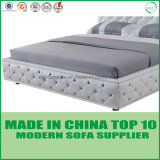 Modern Home Furniture Leather Bedroom Double Bed