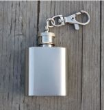 6oz PU Cover Stainless Steel Alcool Flask