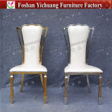 Yc-Ss30 Wholesale High Back Industrial Leather Luxury Dining Chair