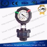 60mm 2.5′′ Dual Dial Oil Filled Diaphragm Pressure Gauge