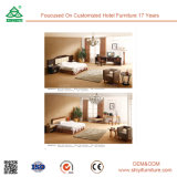 Wholesale Hotel Modern Furniture Iron Wood Bedroom Set