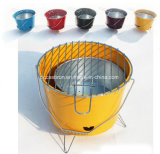 Charcoal Bucket BBQ 12 Inch, Grill Barbecue Hanging