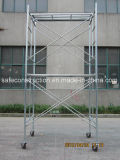 Safe SGS Passed Steel Frame Scaffold for Decoration