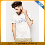 Factory Price Custom White Mens Round Neck Cotton T Shirts