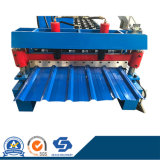 China Market Cheap Used Ibr Profile Metal Roof Wall Panel Forming Machine