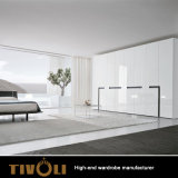 New Style Good Prices Wooden Clothes Designs Sliding Door Wardrobe in Bedroom Warll Closet TV-0308