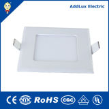 Best Distributor Factory Wholesales Saso CB UL 3W-18W Square Ultra Thin LED Panel Made in China for Ceiling, Office, Store, Supermarket, Museum,Library Lighting