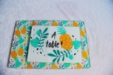 Rectangle Tempered Glass Cheese Board, Glass Cutting Board, Glass Chopping Board