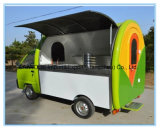 Electric 4 Wheels Mobile Food Cart