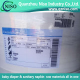 Untreated Fluff Pulp Baby Diaper Raw Materials and Sanitary Napkin Manufacturing