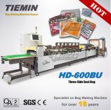 Tiemin Automatic High Quality Speed Three Side Seal Pouch Machine 600BU PLC Flexible Laminated Package Price Rice/Tea/Food/Coffee/Wine/Mask/Candy Bag