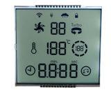 Custom Cheap Small 7 Segment Monochrome Transparent LCD Display Panel