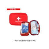 Emergency Using Personal Protective First Aid Kit
