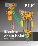 3ton Clutch Electric Chain Hoist/ Double Speeds Hoist /Single Phase Hoist (HKDM0301S)